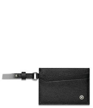 Чехол Montblanc 4810 Westside, для ID, кожа, черный  116391
