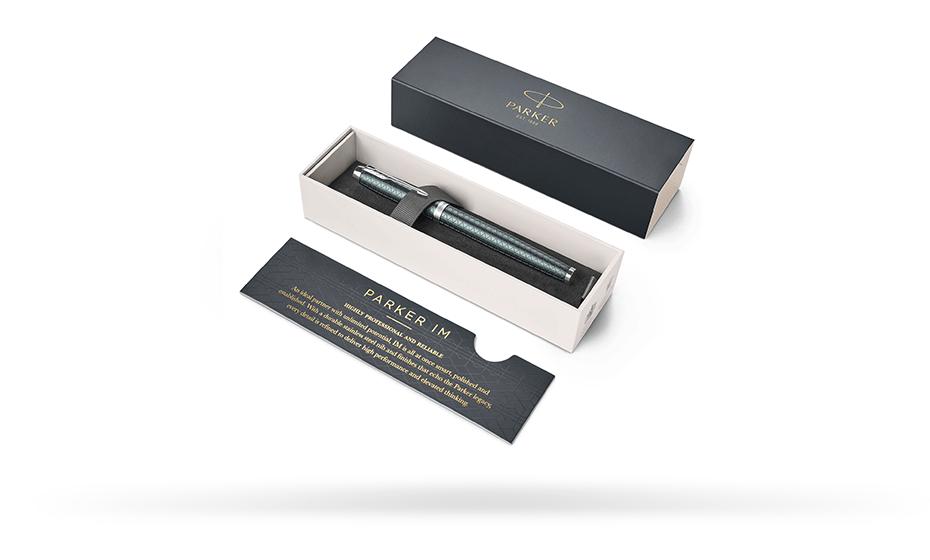 Чернильная ручка Parker Parker IM Premium 2017 Pale Green, матовый анодиро  1931642 35117931642