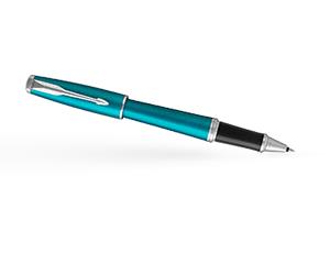 Чернильная ручка Parker Parker Urban Core Vibrant Blue, ювелирная латунь,  1931585