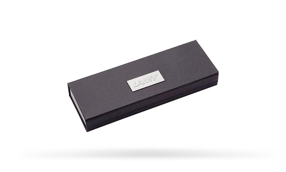 Чернильная ручка Lamy Lamy aion, металл, черная  4031952