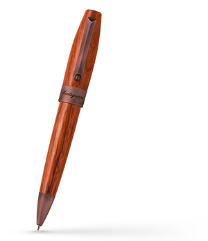 Шариковая ручка Montegrappa Монтеграппа Heartwood Pear, сталь, дерево груша, к  FORT-W-PEAR-BP