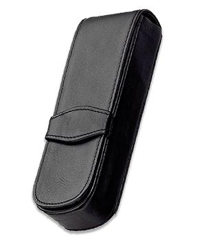Чехол Diplomat Diplomat, для двух ручек, кожа, черный  D90129867
