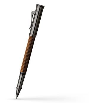 Чернильная ручка Graf von Faber-Castell Classic Makassar, латунь, дерево Макасар, PVD-напы  145516