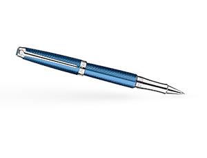 Чернильная ручка Caran d'Ache Caran d`Ache Leman Grand Blue, лак, родий, синяя  4779-168