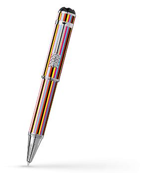 Шариковая ручка Montblanc Great Characters The Beatles, лак, металл, цветные  116258