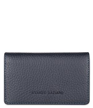 Футляр для карт Avanzo Daziaro GRAIN, кожа, синий  AD-018-201303'