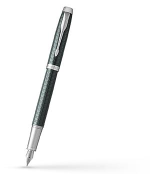 Перьевая ручка Parker Parker IM Premium Dark Green CT, алюминий крашеный  1931640