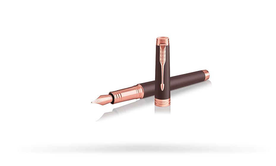 Перьевая ручка Parker Parker Premier Soft Brown PGT, лак, латунь, позоло  1931405