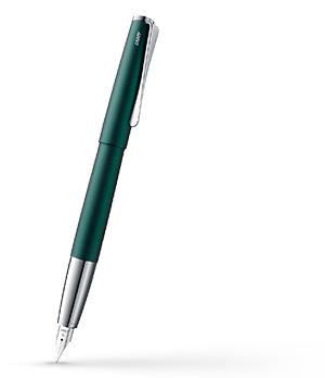 Перьевая ручка Lamy 066 studio, сталь, лак, зеленый  4032689