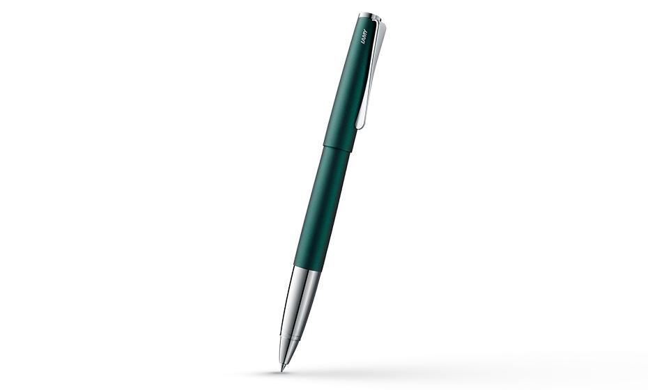 Чернильная ручка Lamy 366 studio, матовый лак, зеленый  4032694