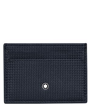 Визитница Montblanc Montblanc Extreme, 5сс, кожа с текстурой плетеных  116364