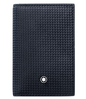 Визитница Montblanc Montblanc Extreme, кожи с текстурой плетеных углер  116366