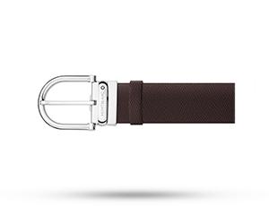 Ремень Montblanc Belt, кожа, коричневый  116719
