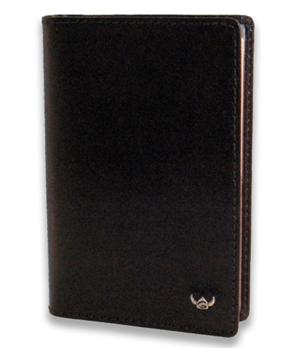 Обложка Golden Head Golden Head, для документов, кожа, черный  440805-8