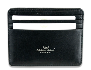 Чехол Golden Head Golden Head, для кредитных карт, кожа, черный  444005-8