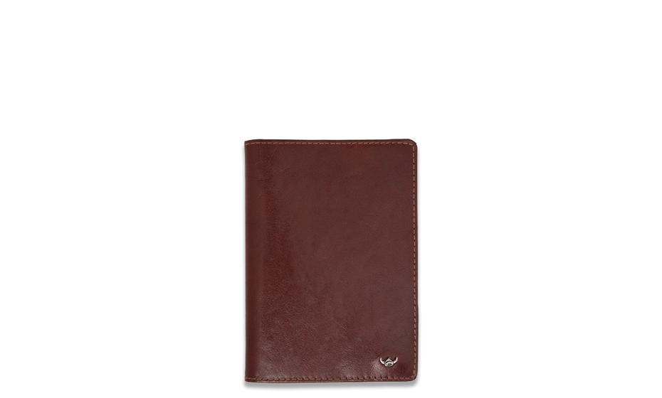 Обложка для паспорта Golden Head Golden Head, кожа, коричневая  445305-2