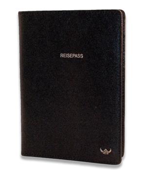 Обложка для паспорта Golden Head Golden Head, кожа, черная  445305-8