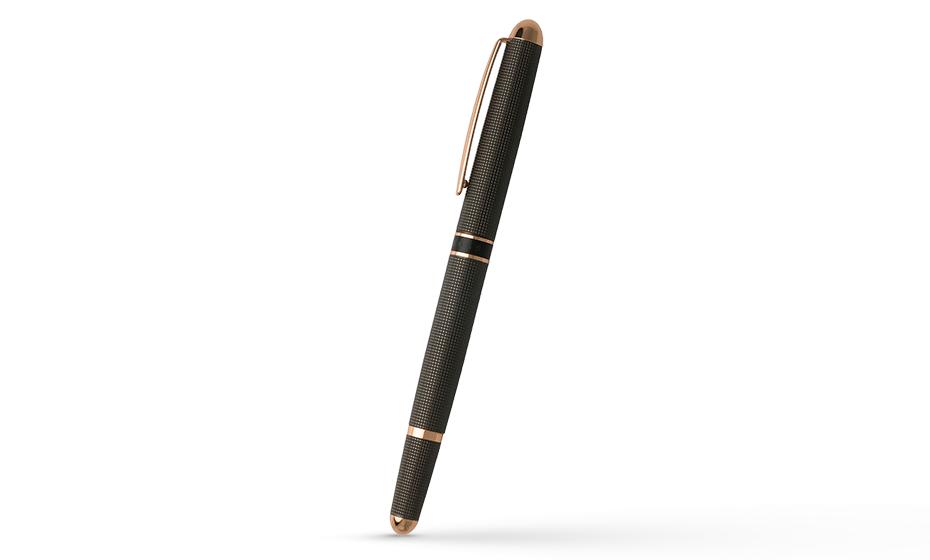 Перьевая ручка Hugo Boss Framework Grid  HSW8872D