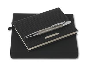 Набор Hugo Boss блокнот+ручка шариковая  HPBM592