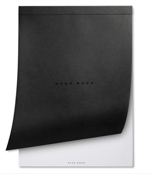 Блокнот Hugo Boss вставка в папку А4  HZRCA4