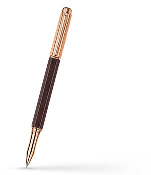 Чернильная ручка Caran d'Ache Caran d'Ache Varius Ebony PGT, черное дерево, розо  4470-142