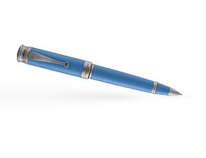 Шариковая ручка Montegrappa UEFA, акриловая смола, сталь, голубой  UEFA-A-BP