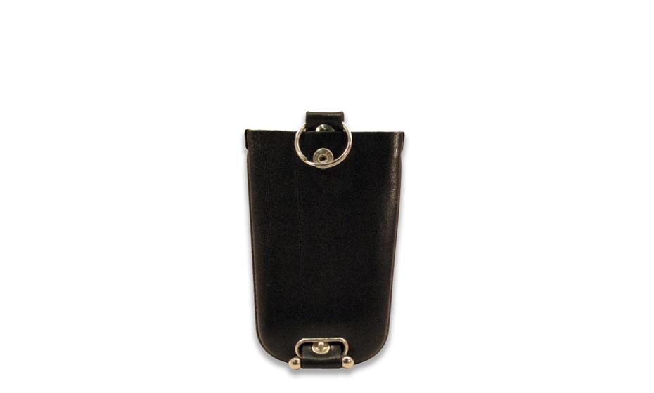 Ключница Golden Head Golden Head, на молнии, кожа, черная  501105-8