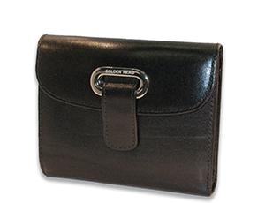 Портмоне Golden Head Colorado Classic, натуральная кожа, черный  134205-8