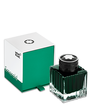 Чернила Montblanc Emerald Green, 50 мл, зеленые  118124