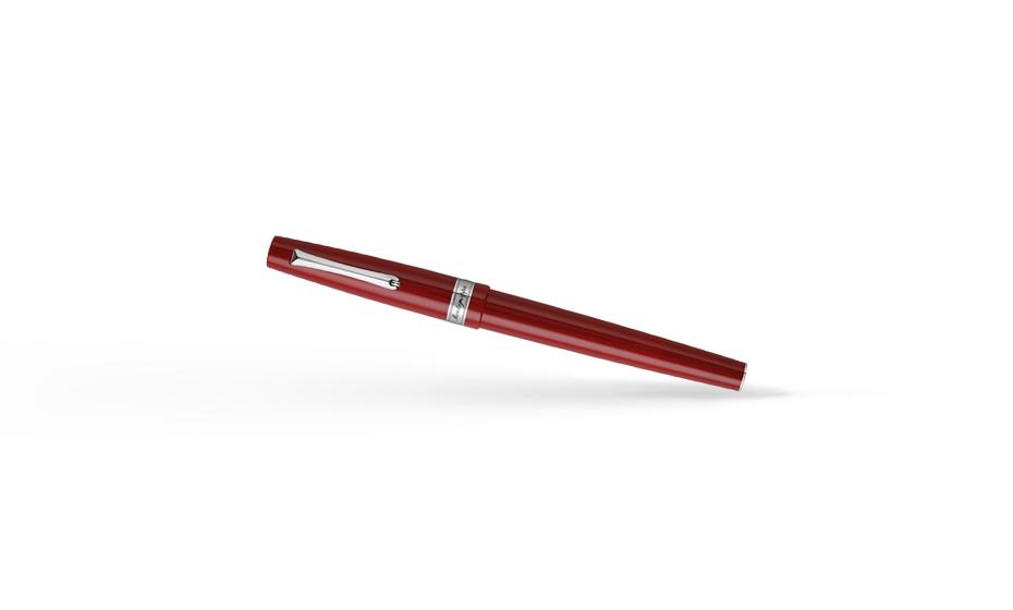 Чернильная ручка Montegrappa Harmony, сталь, смола, красный  HARMONY-BR-D-RB