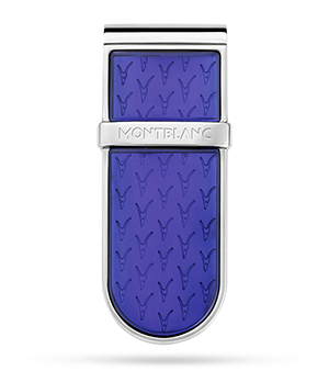 Зажим Montblanc Le Petit Prince, для купюр, сталь, синий  118618