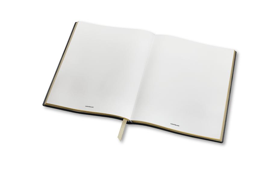 Блокнот Montblanc кожа с тиснением, линованная бумага, 210 x 260 мм  117865