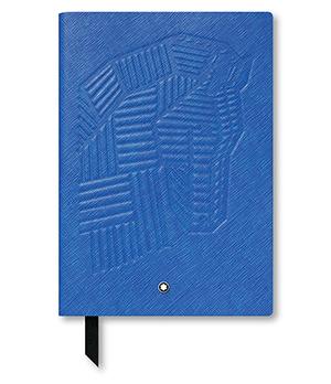 Блокнот Montblanc кожа с тиснением, линованная бумага, 96 листов, 85  118023
