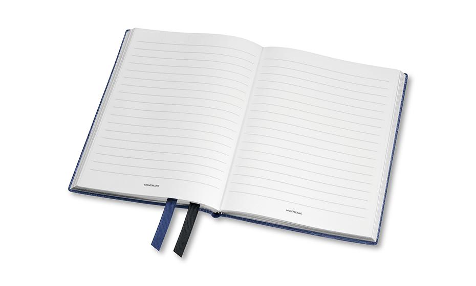 Блокнот Montblanc кожа с тиснением, линованная бумага, 96 листов, 85  118026