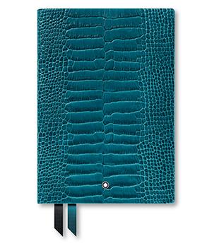 Блокнот Montblanc кожа с тиснением, линованная бумага, 96 листов, 85  118027