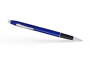 Чернильная ручка Cross Century Classic, лак, хром, синий  AT0085-112
