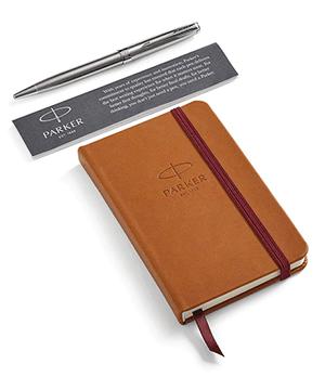 Набор Parker ручка со стержнем, блокнот, подарочная коробка  2018974