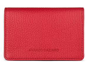 Футляр Avanzo Daziaro Avanzo Daziaro, для карт, кожа, красный  AD-018-201304'