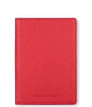 Обложка Avanzo Daziaro Avanzo Daziaro, для документов, кожа, красная  AD-018-211304'