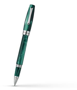 Чернильная ручка Montegrappa FELICITA Зеленый лес, жемчужная смола, сталь, зеле  FEL-G-RB
