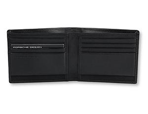 Чехол Porsche Design Porsche Design, для кредитных карт, кожа, черный  4090001720