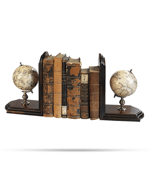 Подставка для книг Authentic Models Authentic Models, подставка для книг с двумя глобу  GL009F