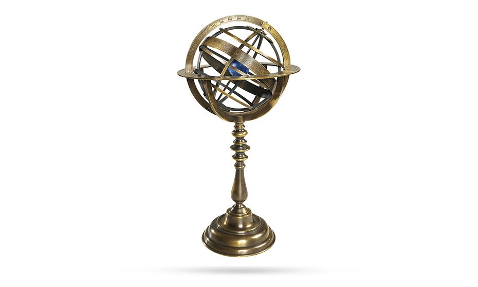 Глобус Authentic Models Authentic Models модель солнечной системы, латунь,  GL052