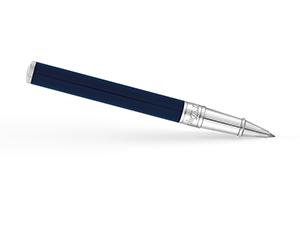 Чернильная ручка S.T. Dupont Initial, латунь, хром, лак, синяя  262205