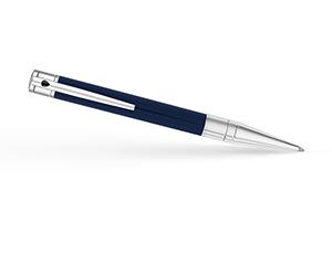 Шариковая ручка S.T. Dupont Initial, хром, лак, синяя  265205