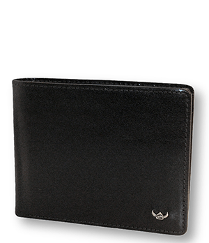 Портмоне Golden Head Colorado Wallet black, кожа, черное  142005-8