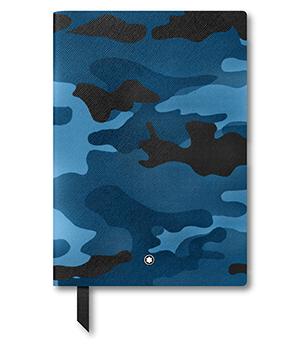 Блокнот Montblanc 146, камуфляж, синий  118821-1