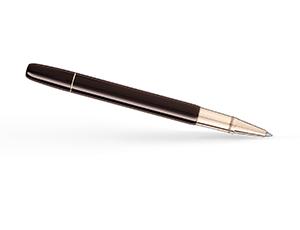 Чернильная ручка Montblanc Heritage Rouge & Noir Tropic Brown, лак, гранат, к  116552