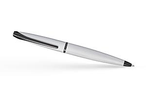 Шариковая ручка Cross Cross ATX Brushed Chrome, латунь, гравировка, хром  882-43