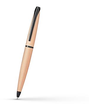 Шариковая ручка Cross латунь, PVD напыление - розовое золото, гравировка  882-42